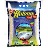 Jual Beras Organik Katana White Rice (Ciherang) 2Kg
