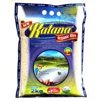 Jual Beras Organik Katana White Rice (Mentik Susu) 2Kg