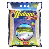 Jual Beras Organik Katana Brown Rice 2Kg
