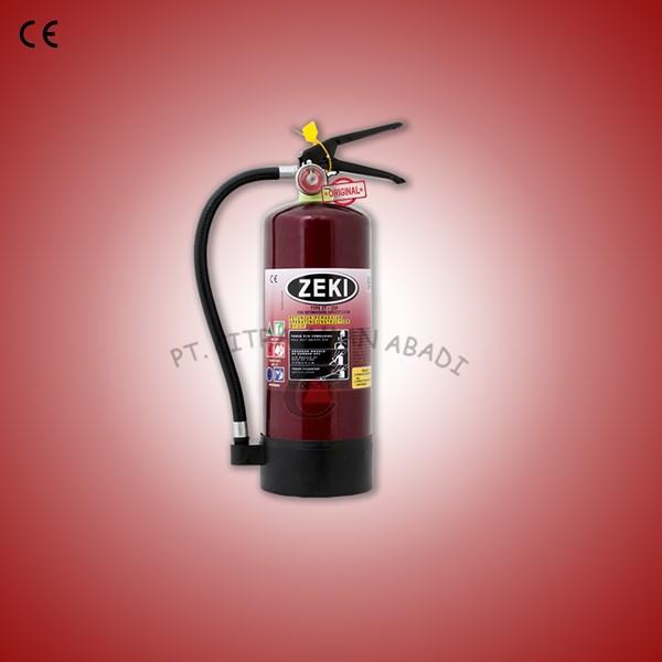 Fire extinguisher powder Zeki 2.5Kg