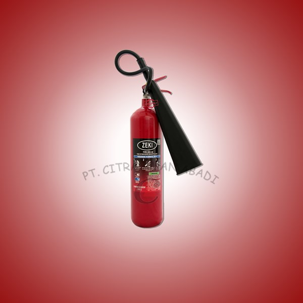 APAR / Alat Pemadam Api Ringan CO2 Zeki 4.6kg