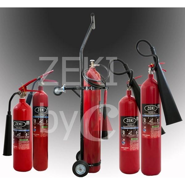 Tabung pemadam api CO2 Zeki 4.6kg