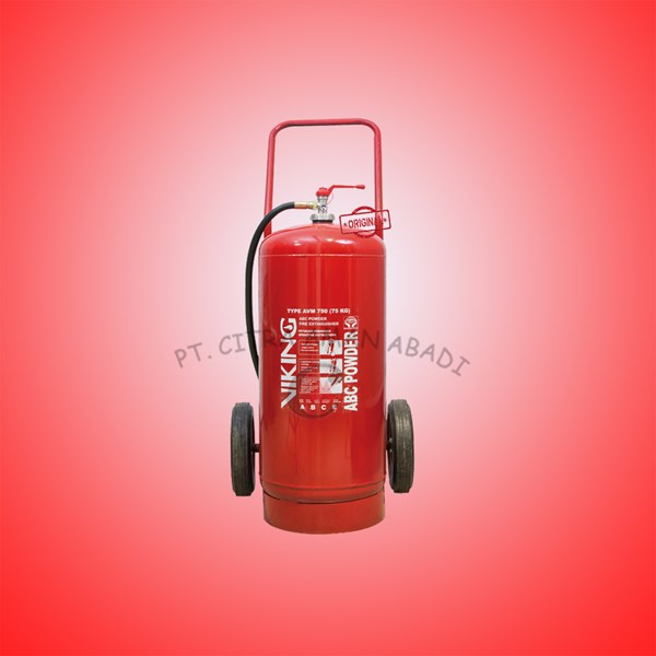 Tabung pemadam kebakaran APAB Powder Viking 50Kg