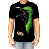 Kaos Sablon Burung GH Gacor 1