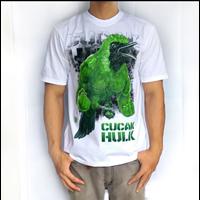 Jual Kaos Cucak Hulk Reguler Putih