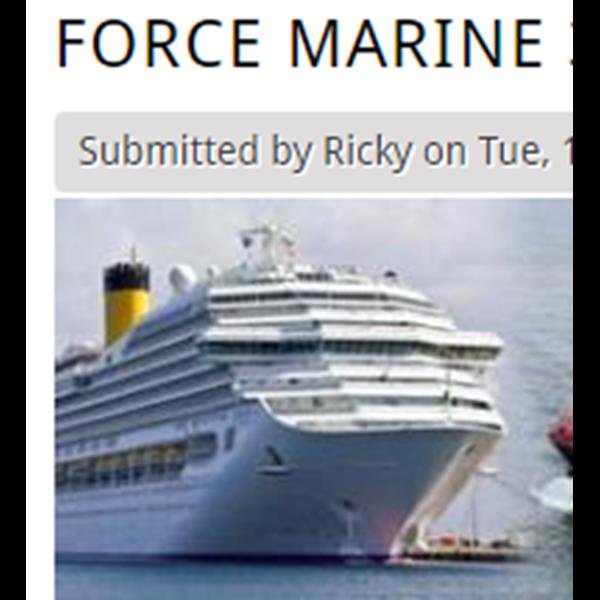 Oli Pelumas Kapal Force Marine 320 Dan 420