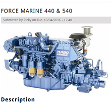 Force Marine 440 Dan 540