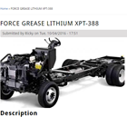 Gemuk Pelumas Force Grease Lithium Xpt-388 1