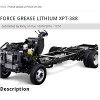 Gemuk Pelumas Force Grease Lithium Xpt-388