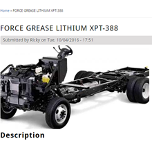 Force Grease Lithium Xpt-388