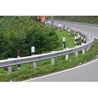 harga komponen guardraill jalan