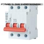 MCB (Miniature Circuit Breaker) LS 3 P 2A-32A 2