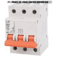 MCB (Miniature Circuit Breaker) LS 3 P 40A-63A