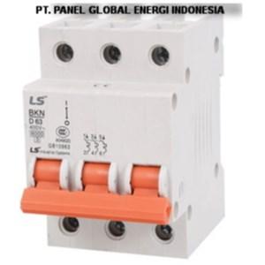 Dari MCB (Miniature Circuit Breaker) LS 3 P 40A-63A 0