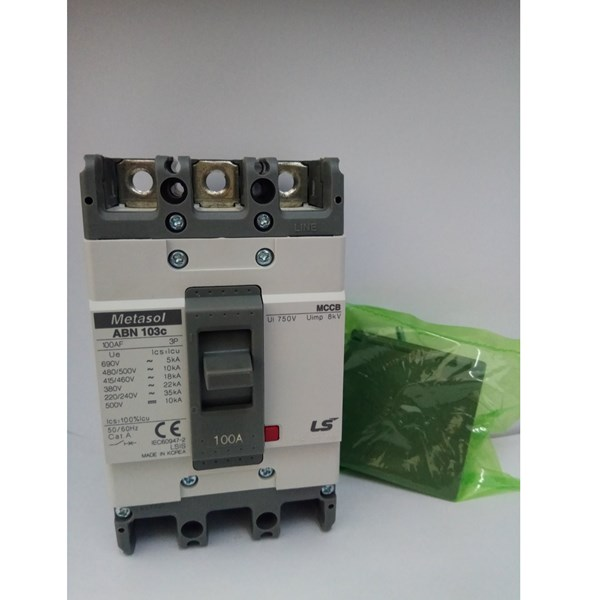 MCCB (Molded Case Circuit Breaker) LS ABN 103C 3 P 75A-100A