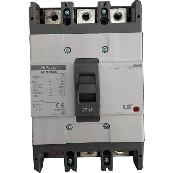 MCCB (Molded Case Circuit Breaker) LS ABN 203C 3 P 150A 200A 225A