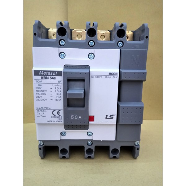 MCCB (Molded Case Circuit Breaker) LS ABN 54C 4 P 50A
