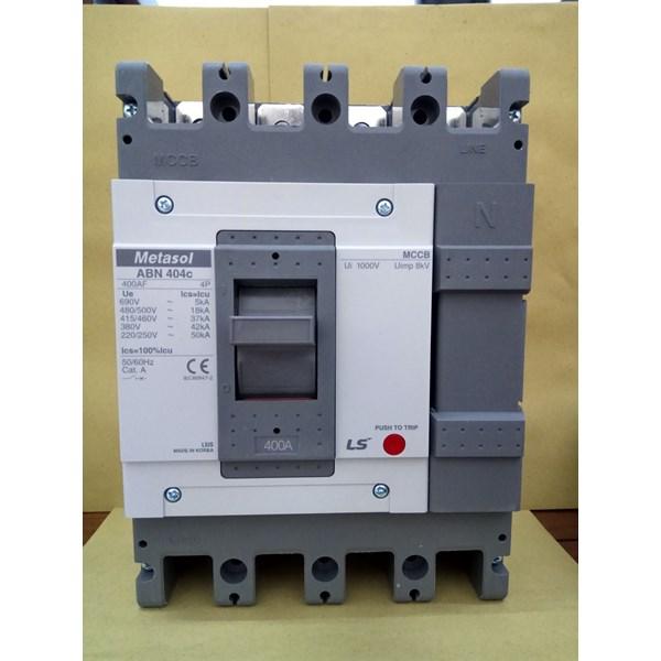 MCCB (Molded Case Circuit Breaker) LS ABN 404C 4 P 400A