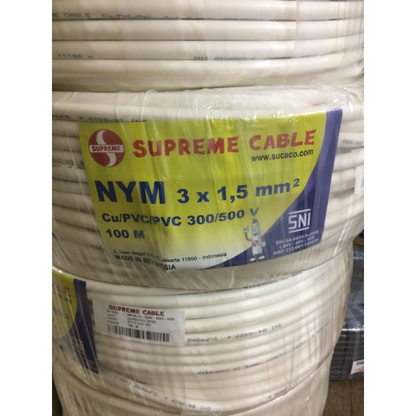 Kabel NYM Supreme 3x1.5