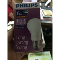 Jual Lampu LED Philips 6watt 2