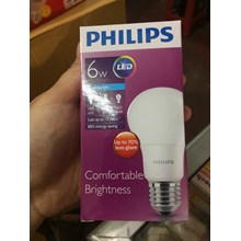 Lampu LED Philips 6watt