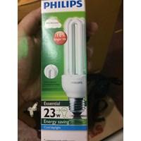 lampu essential philips 23watt