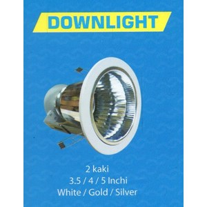 Downlight 2 Kaki 4inch dan 5inch