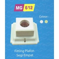 Jual Fitting Plafon Segi Broco