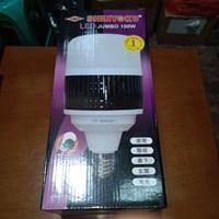 lampu led jumbo 100watt shinyoku setara 1000watt fitting e40 aluminium - Putih