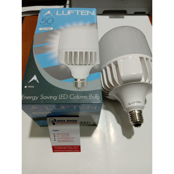 Lampu LED luften capsule kapsul 50 watt cool daylight