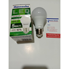 Lampu LED Bulb hannochs 5watt Premier cool daylight 1