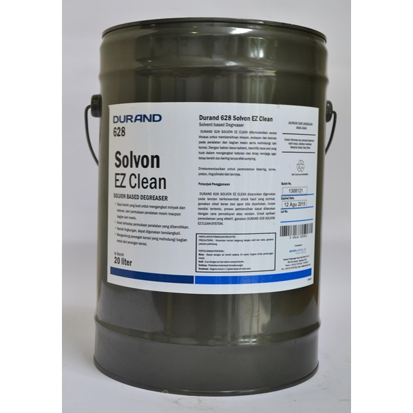 Durand 628 Solvon Ez Clean (The Cleaning Fluid For Oil-Sediment-Dirt On The Machine)