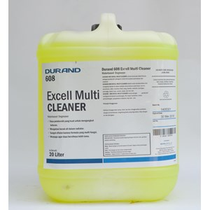 Durand 608 Excell Multi Versatile Cleaner Cleaner Made From Water Based