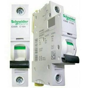 MCB / Miniature Circuit Breaker Schneider 1P 16A Ic60n