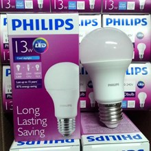Lampu BOHLAM WHITE Led Philips Cool Daylight Dan Warm White
