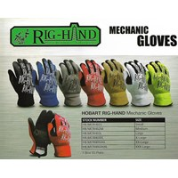 Hobart Mechanic Hand Glove 1