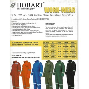Pakaian Safety Hobart Work - Wear