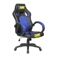 Brazen Shadow Office And Pc Gaming Chair Black And Blue