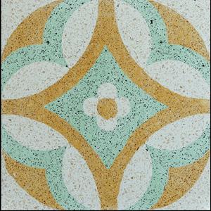 Lantai Keramik Encaustic Terrazzo ENTZ003