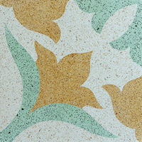 Lantai Keramik Encaustic Terrazzo ENTZ004 1