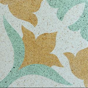 Lantai Keramik Encaustic Terrazzo ENTZ004