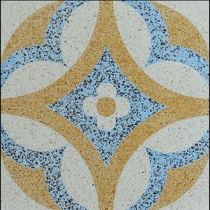 Lantai Keramik Encaustic Terrazzo ENTZ005
