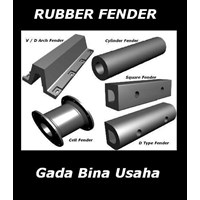 Rubber Fender Pneumatic V Cell M Dsb