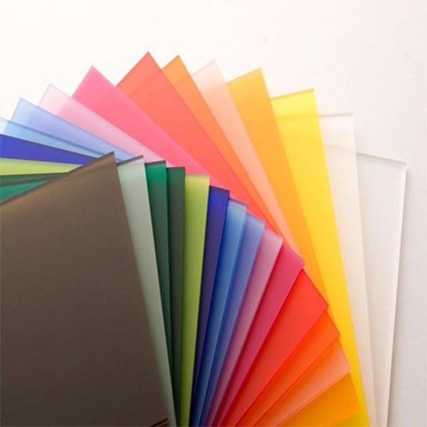 Acrylic Lembaran Warna