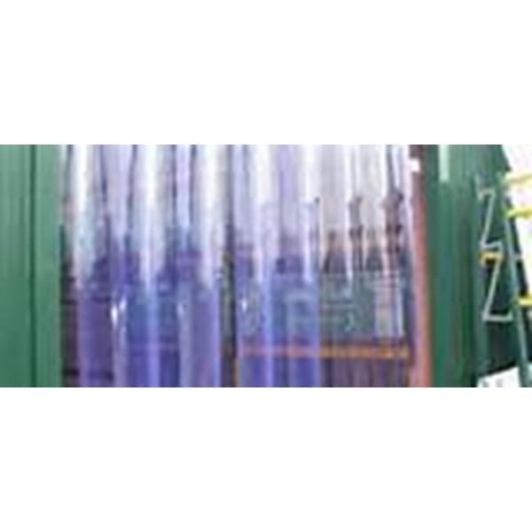 PVC Curtain Tirai Gudang Elastis Bening