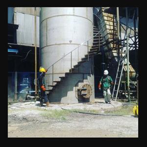 Water Tank Suriname Mill By CV. Jaya Nusantara Tehnik