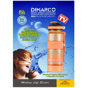 Magic Energy Ion Bottle 500Ml-Botol Minum Kesehatan Air Alkali