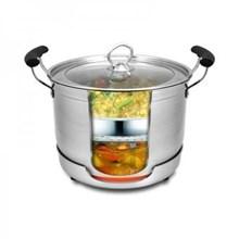 Homzace Cook N Serve Uk 22 Cm - Panci Serbaguna - Memasak Tanpa Api