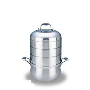Homzace Cooks Cyclone Stack Cooker - Panci Pengukus 4 Susun 9L