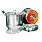 Homzace Cook N Serve Uk 28 Cm - Panci Serbaguna - Memasak Tanpa Api 3